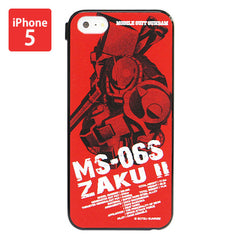 Mobile Suit Gundam Char's Zaku Iphone 5 Cover [P-Bandai Exclusive]