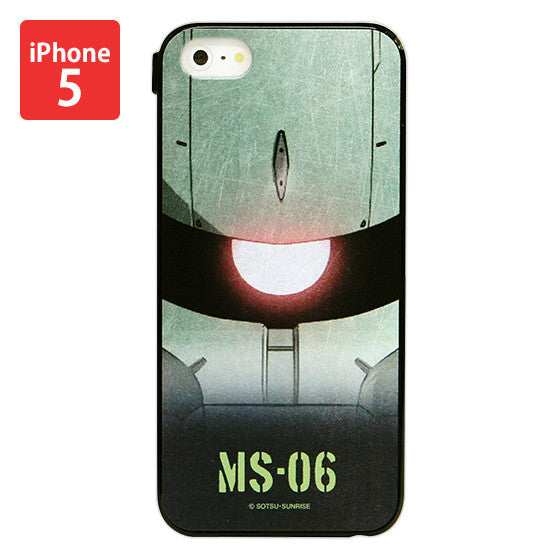 Mobile Suit Gundam Zaku Iphone 5 Cover [P-Bandai Exclusive]