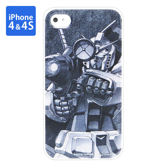 Mobile Suit Gundam RX-78-2 Gundam Iphone 4 & 4s Cover [P-Bandai Exclusive]