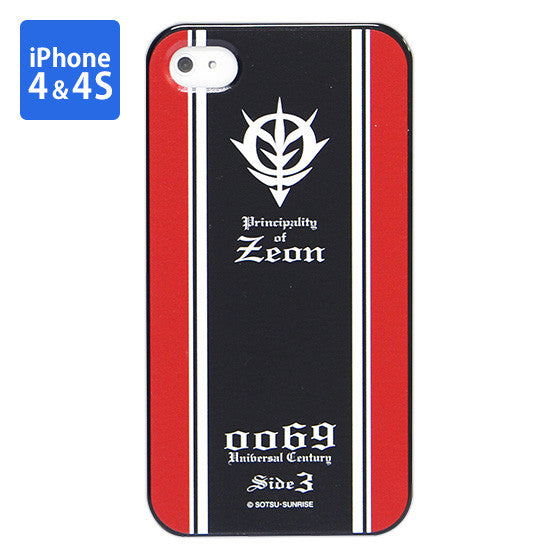 Mobile Suit Gundam Zeon Army Iphone 4 & 4s Cover [P-Bandai Exclusive]