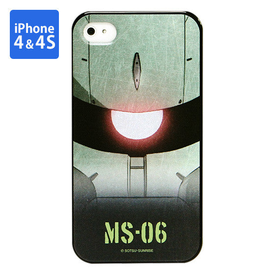 Mobile Suit Gundam Zaku Iphone 4 & 4s cover [P-Bandai Exclusive]