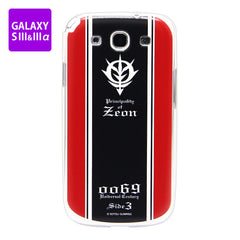 Mobile Suit Gundam Zeon Army GALAXY S III & IIIα Cover [P-Bandai Exclusive]