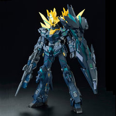 MG 1/100 RX-0[N] Unicorn Gundam 02 Banshee Norn Green Psycho Frame (Final Battle Ver.)  [P-Bandai Online Hobby Shop Exclusive]