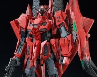 MG 1/100 Z Gundam Unit 3 P2 Red Zeta [P-Bandai Exclusive]
