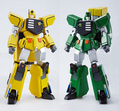 Super Robot Chogokin: Furyu & Rairyu + Order Room + Key to Victory [Tamashii Web Shop Exclusive]