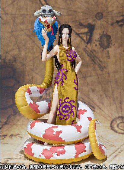 Figuarts ZERO One Piece - Boa Hancock & Salome Gold Ver.  [Tamashii Web Shop Exclusive]