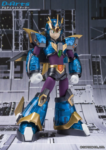 D-ARTS Megaman Ultimate Armor