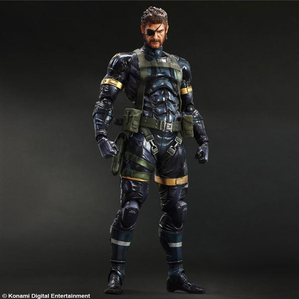 Play Arts Kai Metal Gear Soilid V Ground Zeroes - Snake
