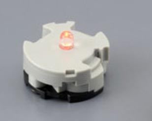 2 LED Units (RED) - Limited Accessory for MG 00 Series Model Kits [P-Bandai Exclusive]