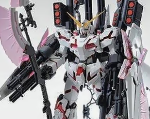 MG 1/100 Full Armor Unicorn Gundam (Red Psycho Frame Ver) [P-Bandai Exclusive]