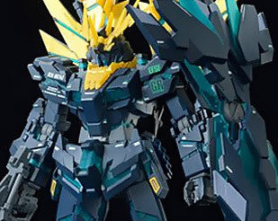 MG 1/100 RX-0[N] Unicorn Gundam 02 Banshee Norn Green Psycho Frame (Final Battle Ver.)  [P-Bandai Exclusive]