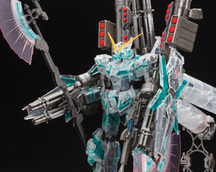 MG 1/100 Full Armor Unicorn Gundam Clear Ver. [Gundam Expo Exclusive]