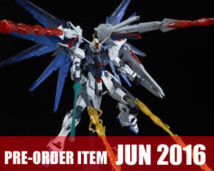 MG 1/100 Freedom Gundam Ver.2.0 Full Burst Mode Special Coating  Ver. + Effect Parts Deluxe Set  [P-Bandai Exclusive]