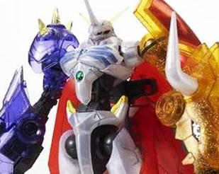 Digimon Reboot Omegamon Special Clear Color Ver. [P-Bandai Exclusive Model Kit]