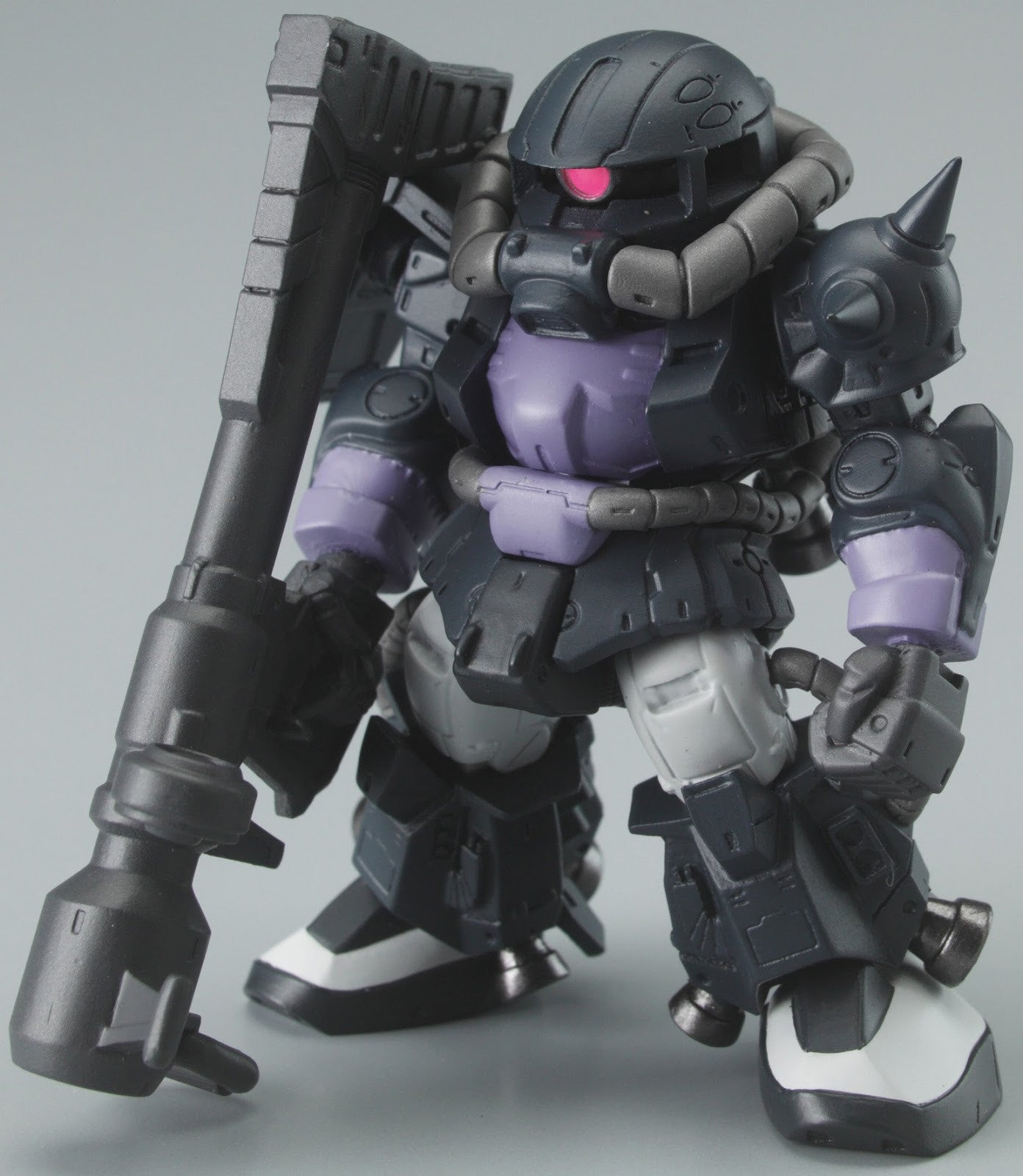 FW Gundam Converge 9 - Zaku II High Mobility Type [Black Tri-Star Custom]