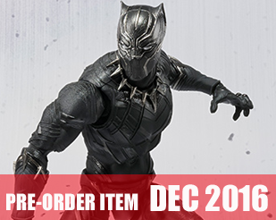 S.H.Figuarts [Captain America Civil War] - Black Panther  [Tamashii Web Exclusive]