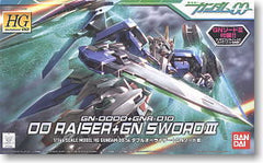 HG 1/144 GN-0000+GNR-010 00 Raiser + GN Sword III  Model Kit