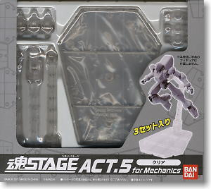 Tamashii Stage Act.5 Display Stand (Clear)