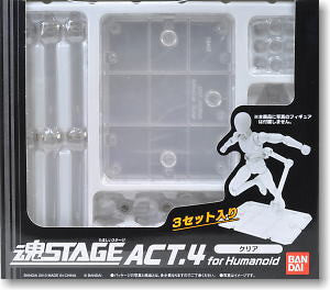 Tamashii Stage Act.4 Display Stand (Clear)