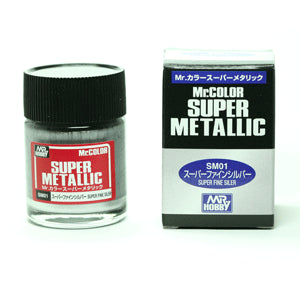 Mr. Color Super Metallic Chrome 10ml