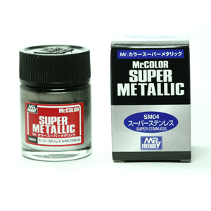 Mr. Color Super Metallic Stainless Steel 10ml