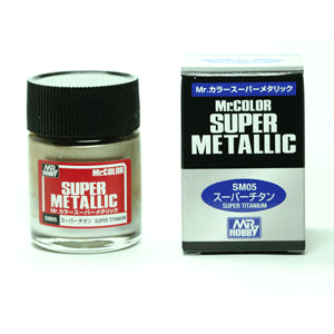 Mr. Color Super Metallic Titanium 10ml