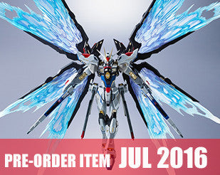METAL BUILD Strike Freedom Gundam Wing of Light Effect Part Set [Tamashii Web Exclusive]