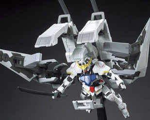 HG 1/144 Gundam Barbatos + Long Range Transport Booster Kutan Type