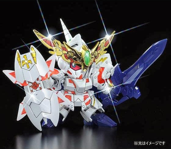 SD BB LEGEND Knight Unicorn Gundam (Ultimate Battle Ver.)  [P-Bandai Online Hobby Shop Exclusive]