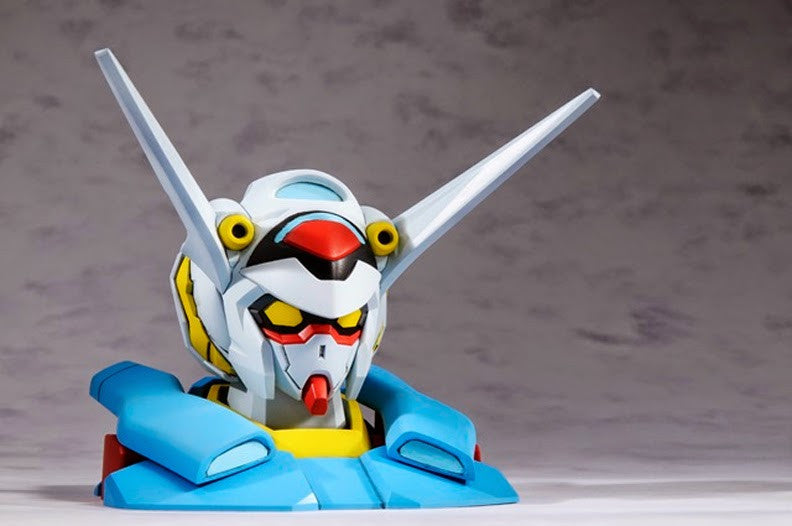 Hobby Japan (Dec 2014 Issue) w/ 1/48 Scale Gundam G-Self Head Display Stand