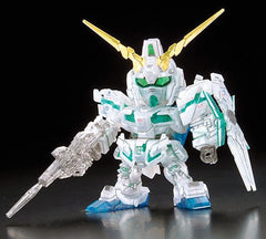 SD Unicorn Gundam Pearl Green Frame Clear Ver.  [Gundam Expo Exclusive]
