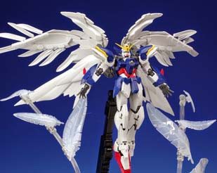 RG 1/144 Wing Gundam Zero Custom EW  'Seraphim Feather' Effect Part Set [P-Bandai Exclusive]