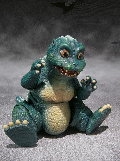 S.H.MonsterArts Little Godzilla & Crystal Set [Tamashii Web Shop Exclusive]