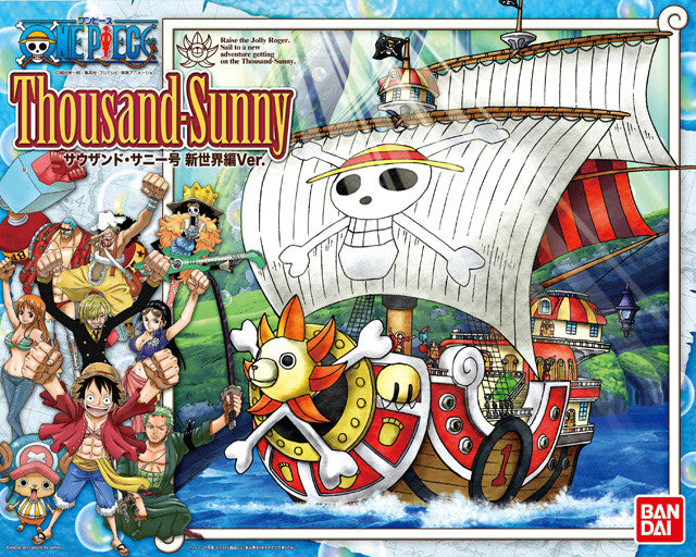 One Piece Thousand Sunny New World Ver. Model Kit
