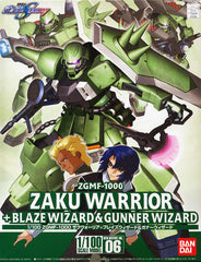 Gundam SEED Destiny: 1/100 Zaku Warrior Blaze & Gunner Model Kit