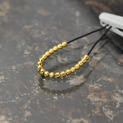 Metal pipe 1.7mm Gold Color (20 pcs) [Mp17G]