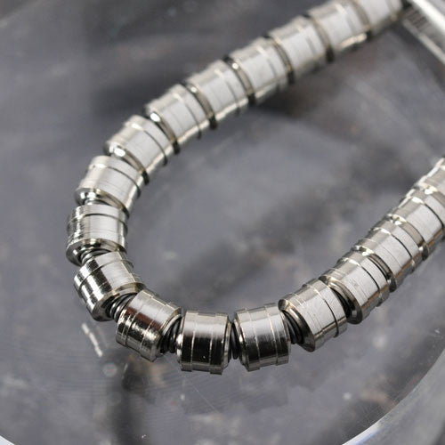 Metal pipe 5.0mm Silver Color (20 pcs) [Mp50S]