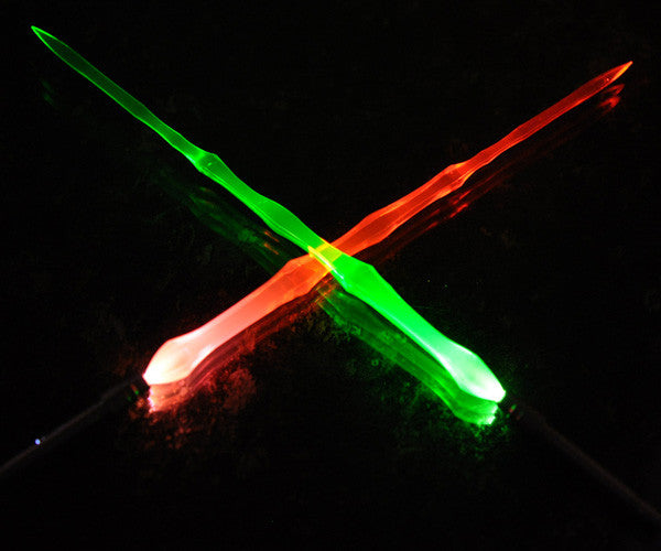 G-Temple Light up LED Sword Holder (Set of 2 with batteries) [Gtledshw]