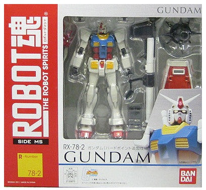 Robot Spirit (Side MS) RX-78-2 Gundam (Hardpoint Spec.)