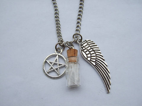 SALE - Supernatural Protection Necklace