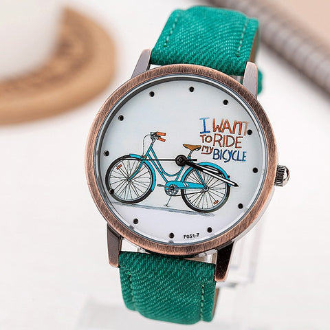 $8 Off - Cute Fashion Casual Watches for Biker - FREE SHIPPING