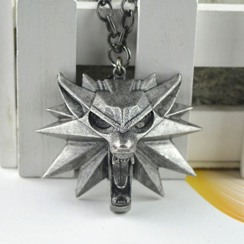 100% OFF - Wolf Head Necklace