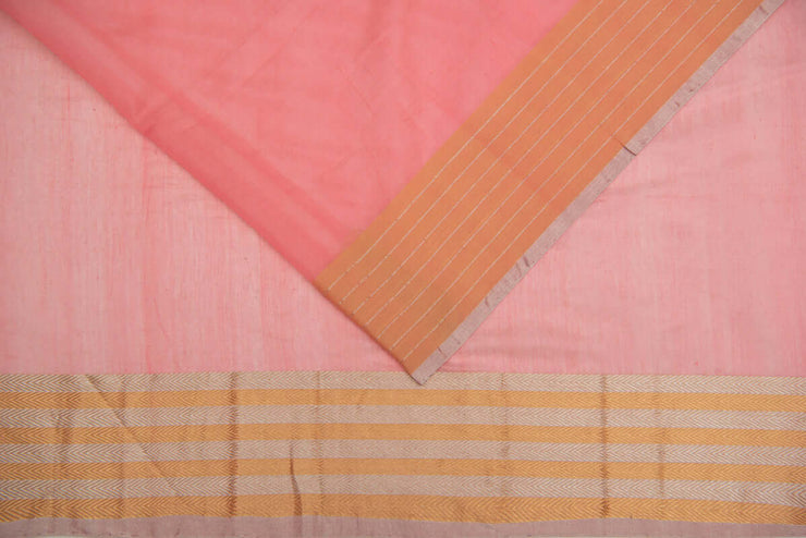 Banarasi Cotton Silk Saree - www.artisansaga.com