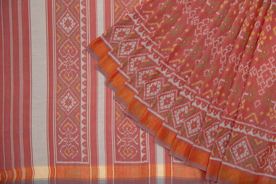 Cotton Patola Saree