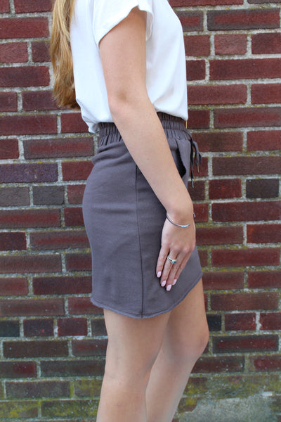 D&M Knit Skirt with Pocket