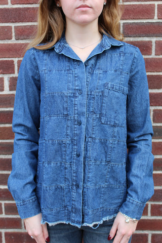 Amadi Tina Patch Denim Shirt