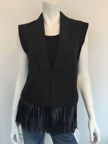 RD Woven Vest with Fringe