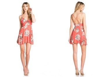 D&M Strappy Floral Dress