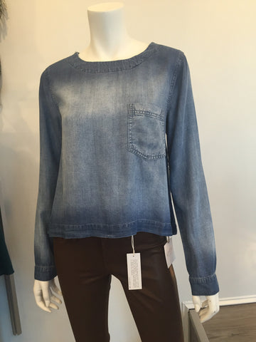 Bella Dahl Button Back Pullover
