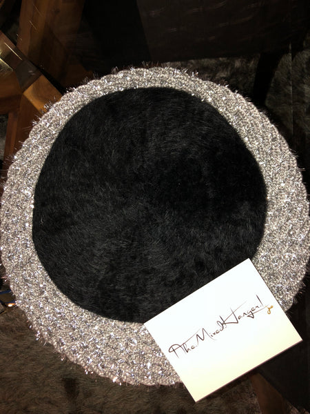 Grace Faux Fur Beret - The Mixed Hanger